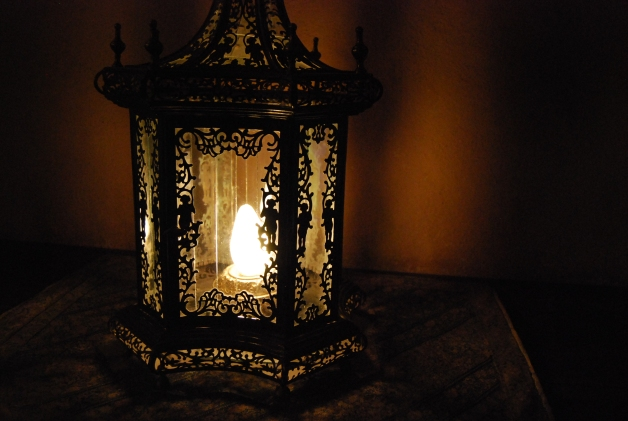 Light My Way, Hearst Castle, CA