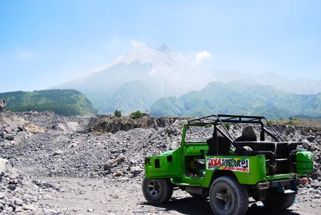 4x4, Mount Merapi, Indonesia